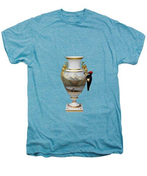 Wood Pecker's Dream Men's Premium T-Shirt by Keshava Shukla