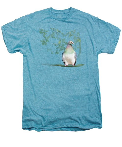 Wood Pigeon Men's Premium T-Shirt by Ivana Westin