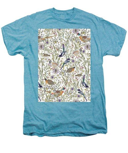 Woodland Edge Birds Men's Premium T-Shirt