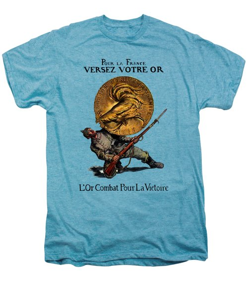 Wwi Gold For French Victory Men's Premium T-Shirt