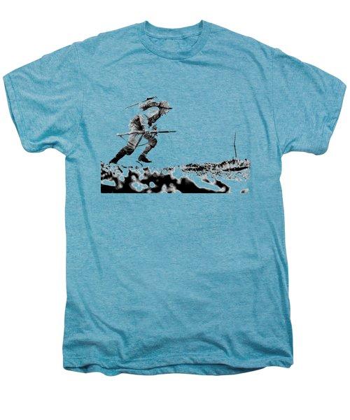Wwii Marine Crosses Death Valley Okinawa Men's Premium T-Shirt