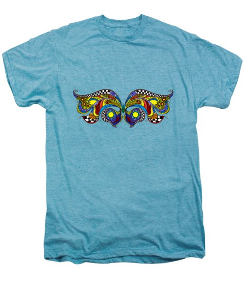 Chrysalis Men's Premium T-Shirt by Dar Freeland