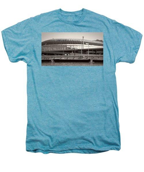 Yankee Stadium    1923  -  2008 Men's Premium T-Shirt by Daniel Hagerman
