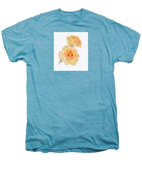Yellow Roses Men's Premium T-Shirt by Beatrice Cloake