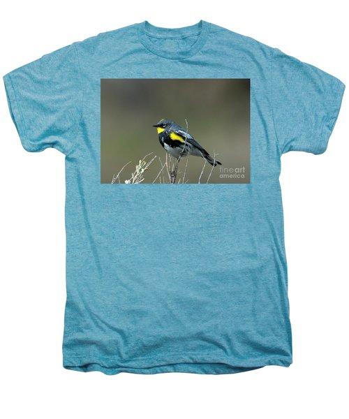 Yellow-rumped Warbler Men's Premium T-Shirt