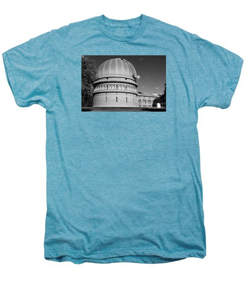 Men's Premium T-Shirt featuring the photograph Yerkes Observatory  by Ricky L Jones