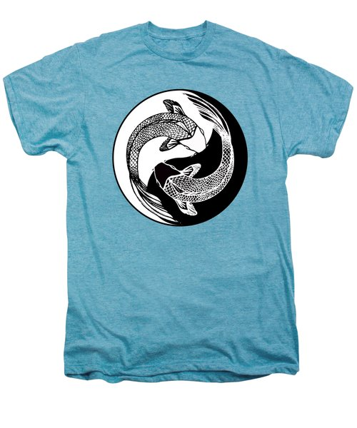 Yin Yang Fish Men's Premium T-Shirt