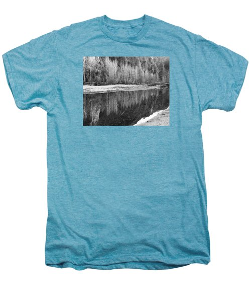 Yosemite  Men's Premium T-Shirt by Lora Lee Chapman