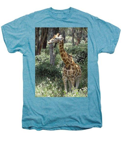 Young Giraffe Men's Premium T-Shirt
