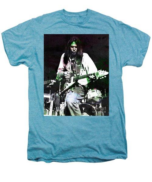 Young Neil Men's Premium T-Shirt by John Malone