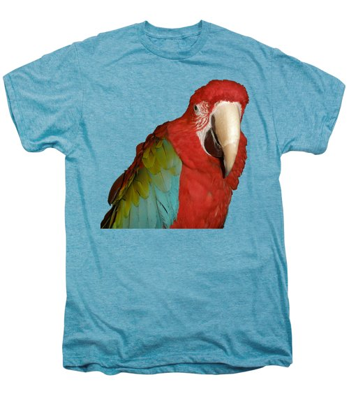 Zazu Men's Premium T-Shirt by Zazu's House Parrot Sanctuary