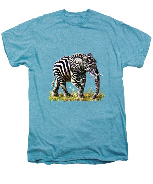 Zebraphant Men's Premium T-Shirt