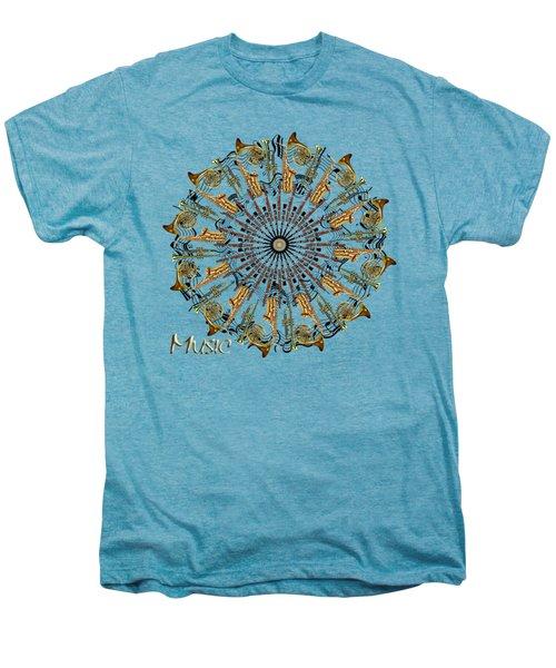 Zeerkl Of Music Men's Premium T-Shirt by Edelberto Cabrera