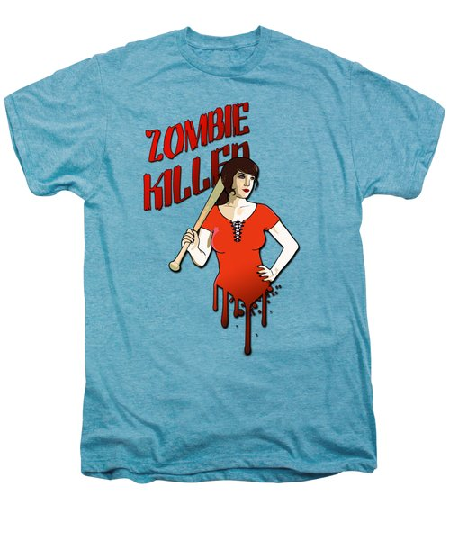 Zombie Killer Men's Premium T-Shirt by Nicklas Gustafsson