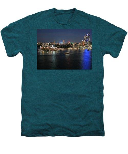 Sydney Harbor At Circular Quay Men's Premium T-Shirt