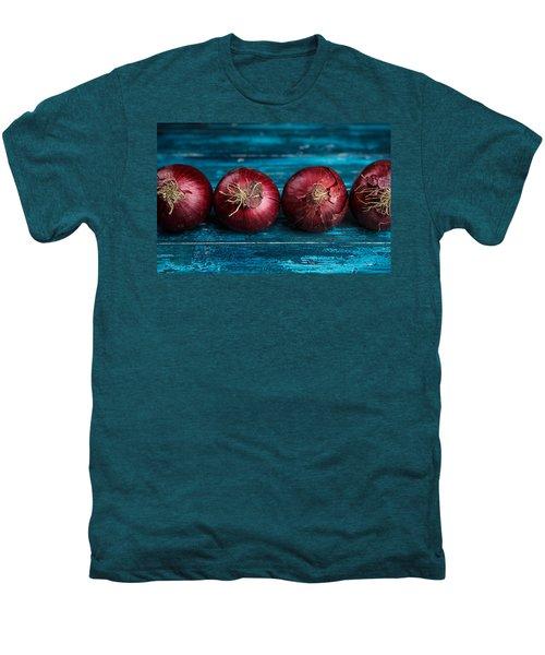 Red Onions Men's Premium T-Shirt by Nailia Schwarz