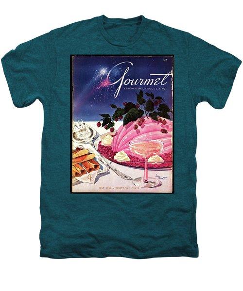 A Gourmet Cover Of Mousse Men's Premium T-Shirt