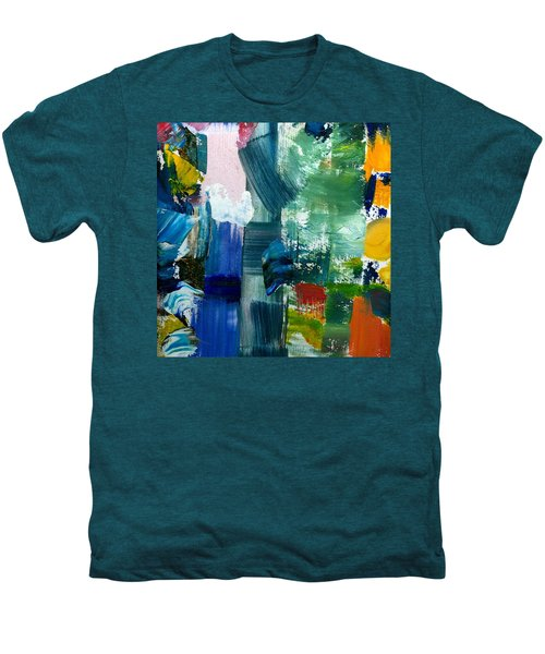 Abstract Color Relationships Lll Men's Premium T-Shirt