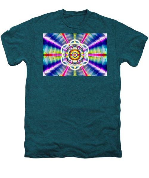 Ascending Eye Of Spirit Men's Premium T-Shirt by Derek Gedney