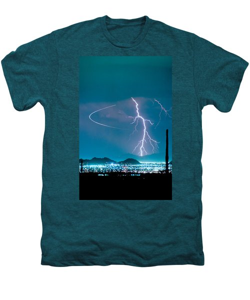 Bo Trek The Lightning Man Men's Premium T-Shirt by James BO  Insogna