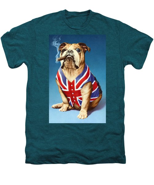 British Bulldog Men's Premium T-Shirt