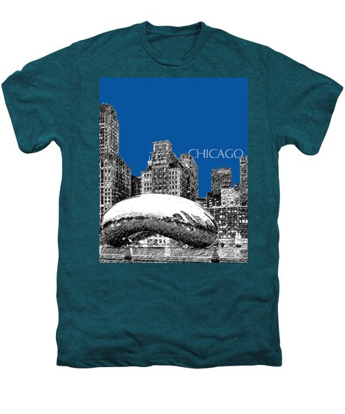 Chicago The Bean - Royal Blue Men's Premium T-Shirt