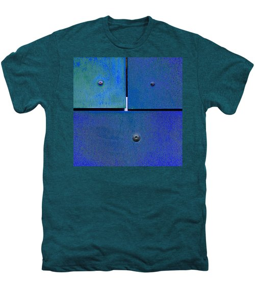 Four Five Six - Colorful Rust - Blue Men's Premium T-Shirt