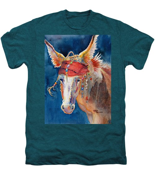 Jack Burro -  Donkey Men's Premium T-Shirt by Deb  Harclerode