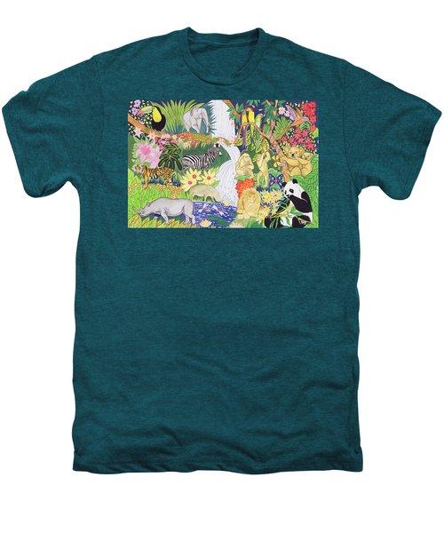 Jungle Animals Wc Men's Premium T-Shirt