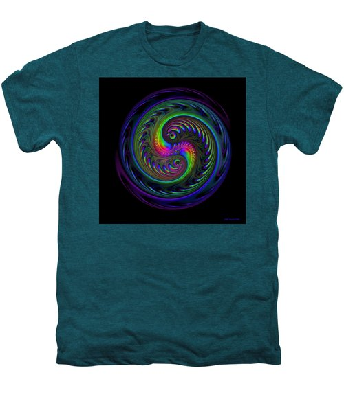 Koi Yin Yang Men's Premium T-Shirt