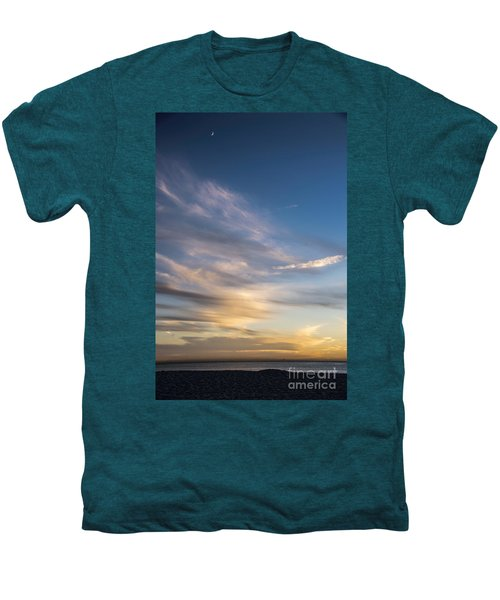Moon Over Doheny Men's Premium T-Shirt by Peggy Hughes