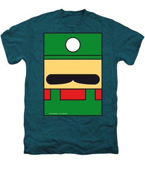 My Mariobros Fig 02 Minimal Poster Men's Premium T-Shirt
