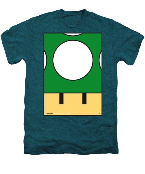 My Mariobros Fig 05b Minimal Poster Men's Premium T-Shirt