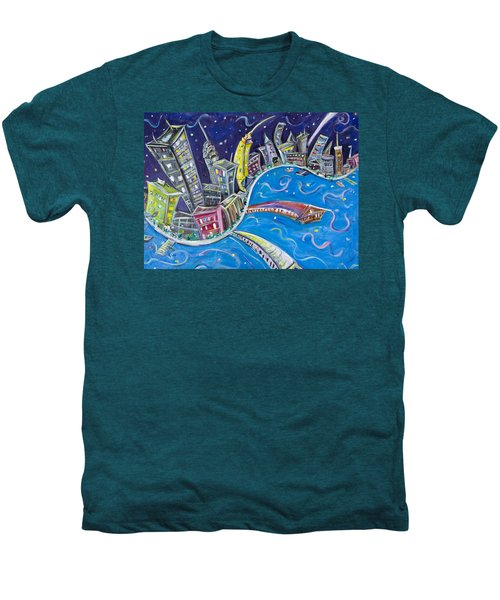 New York City Nights Men's Premium T-Shirt