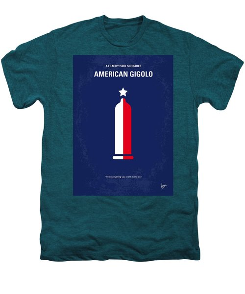 No150 My American Gigolo Minimal Movie Poster Men's Premium T-Shirt by Chungkong Art