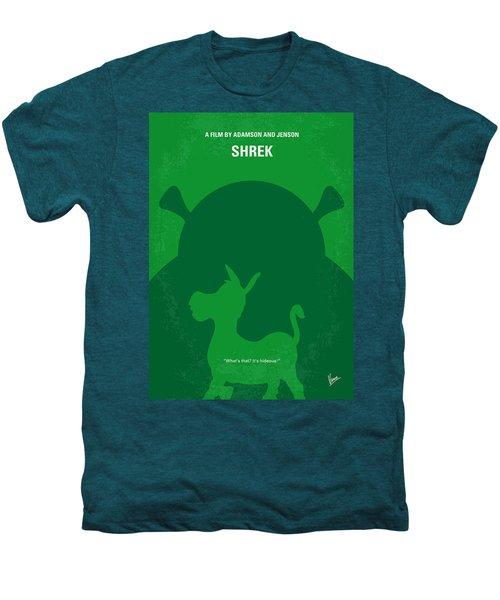 No280 My Shrek Minimal Movie Poster Men's Premium T-Shirt