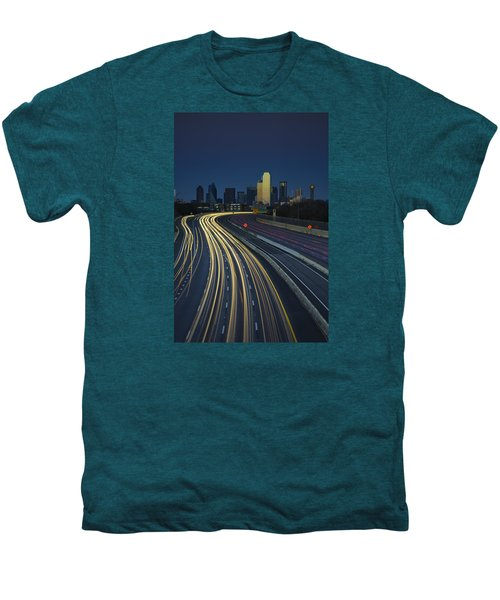 Oncoming Traffic Men's Premium T-Shirt by Rick Berk