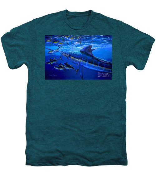 Out Of The Blue Men's Premium T-Shirt by Carey Chen