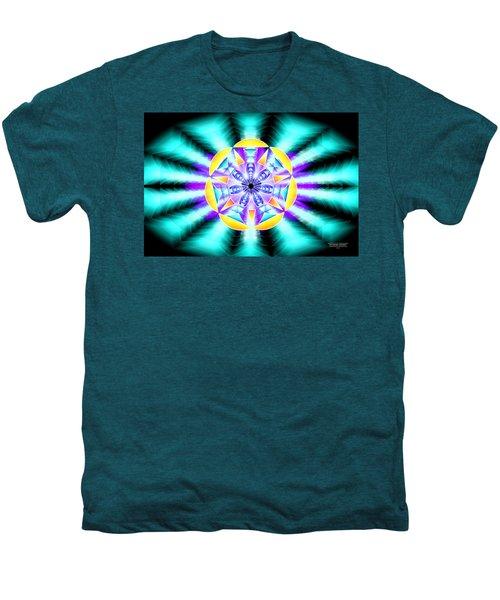 Seventh Ray Of Consciousness Men's Premium T-Shirt by Derek Gedney