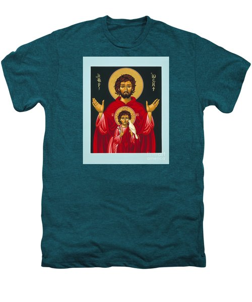 St. Joseph Shadow Of The Father 039 Men's Premium T-Shirt