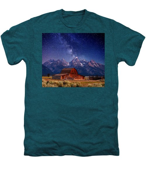 Teton Nights Men's Premium T-Shirt