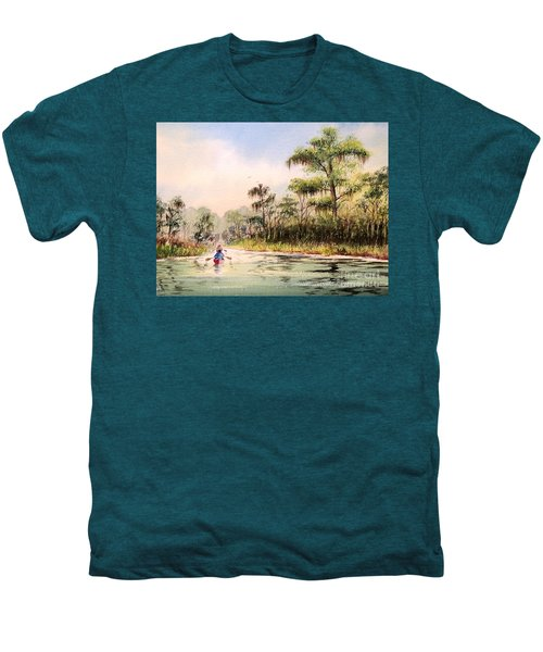 Wacissa River  Men's Premium T-Shirt by Bill Holkham