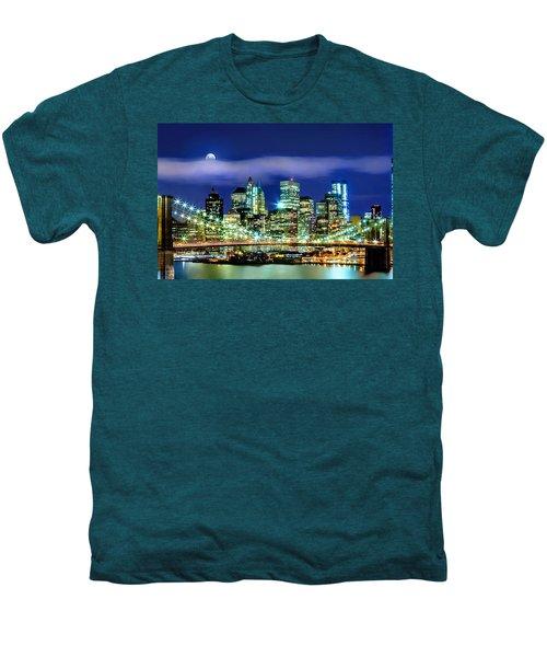 Watching Over New York Men's Premium T-Shirt