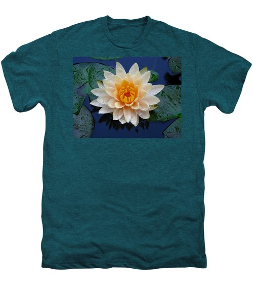 Waterlily After A Shower Men's Premium T-Shirt
