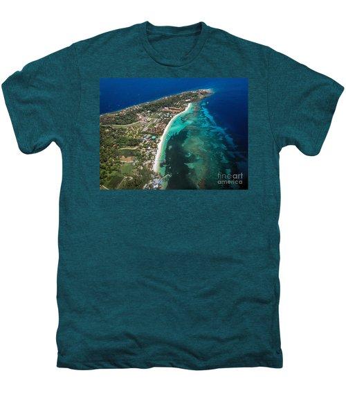 West End Roatan Honduras Men's Premium T-Shirt by Peggy Hughes