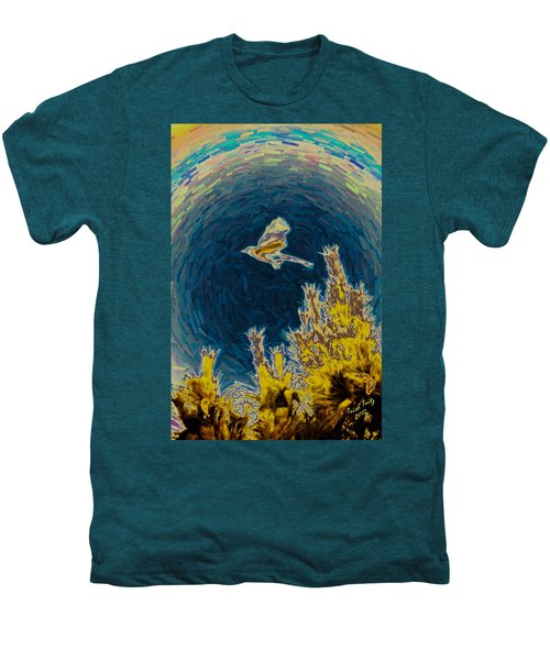 Bluejay Gone Wild Men's Premium T-Shirt