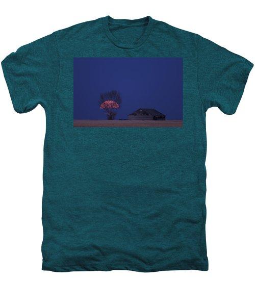 Night Shot Saskatchewan Canada Men's Premium T-Shirt