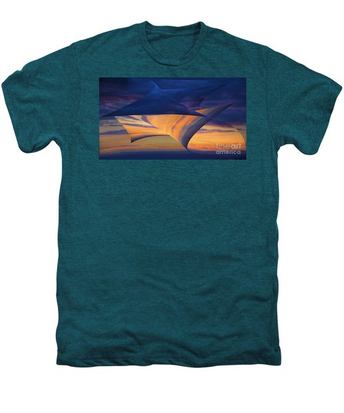 Men's Premium T-Shirt featuring the photograph Peeling Back The Layers by Clare Bambers