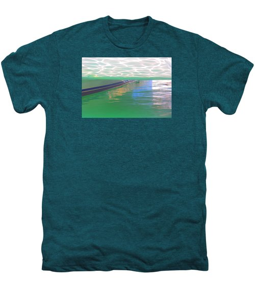 Men's Premium T-Shirt featuring the photograph Reflections by Nareeta Martin