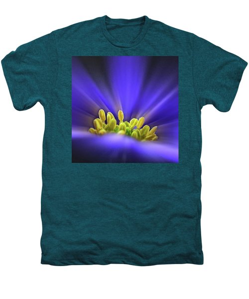 blue Shades - An Anemone Blanda Men's Premium T-Shirt